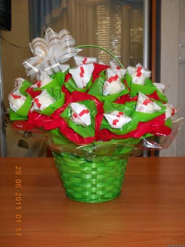 Букеты из рафаэлло конфет своими руками